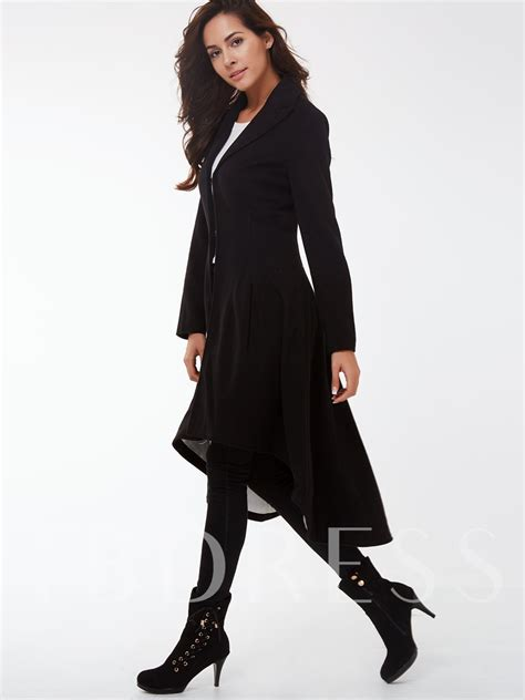color block trench coat color block asymmetric sleeve s trench coat