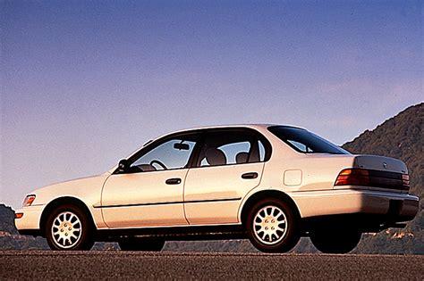 toyota corrolla 97 1993 97 toyota corolla consumer guide auto