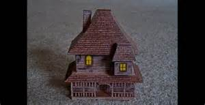 monster house com paper model of the house from the movie quot monster house
