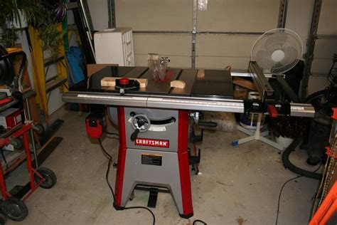 craftsman table saw review review craftsman 10 contractor table saw model 21833