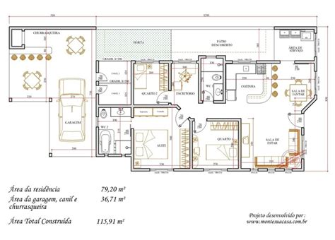 plantas baixas plantas de casas gr 225 tis modelos projetos planta baixa