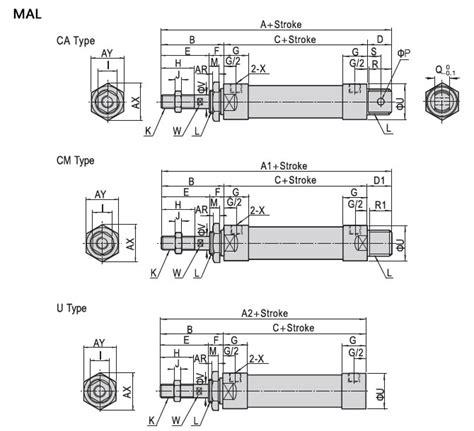 Air Cylinder Mal 20 X 100 Silinder Hidrolik Hydraulic Pneumatic mal mal series mini cylinder mini cylinder pneumatic cylinder yueqing betre automation co ltd