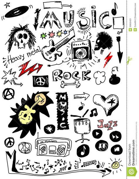 doodle song simple doodle of a speaker vector illustration