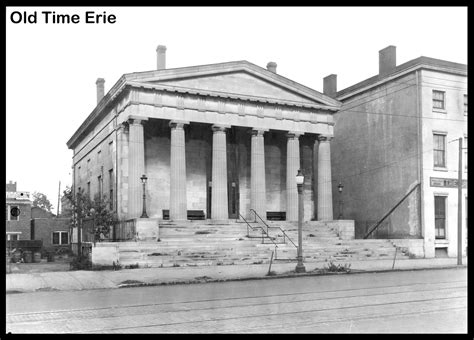 Erie Post Office by Erie Pa Us Post Office Government Building Vtg Prelinen