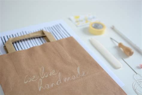 Handmade Giveaways - we handmade giveaway craft bag und workshop