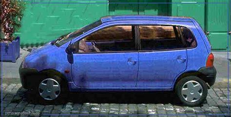renault twingo 5 porte les inconnues fondu de voiture