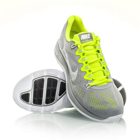 nike running shoes volt nike lunarglide 5 mens running shoes grey white volt