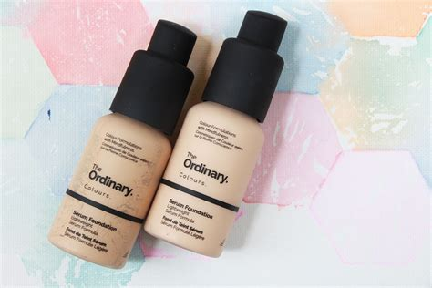 Ordinary Serum Foundation the ordinary s serum foundation affordable cruelty free