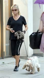 the fit life felicity kendal looks good in sporty black as she the fit life felicity kendal looks good in sporty black