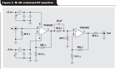 importance of resistors in electronics op what is the importance of the 50 omega resistors in this rf op circuit