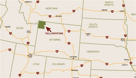 map usa yellowstone park yellowstone s featured regions explore towns cities