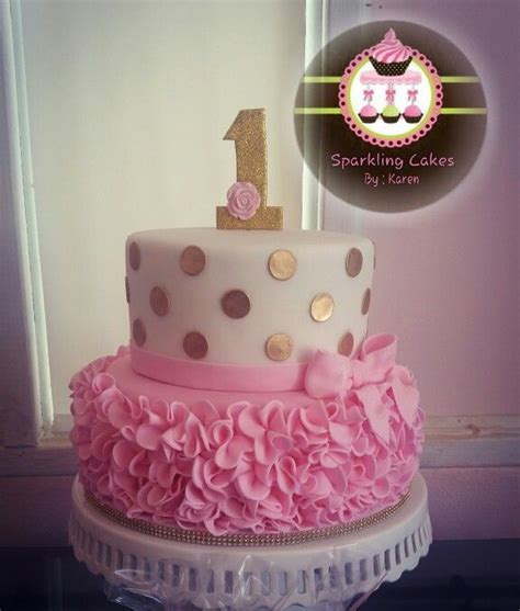 1st Birthday Cake by 25 Best Ideas About Gold Birthday On