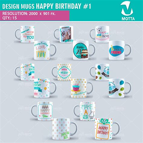design huruf happy birthday design for sublimation of mugs happy birthday