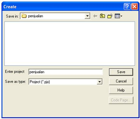 membuat database pada xp membuat database pada visual foxpro