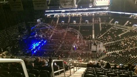 barclays center section 222 concert seating