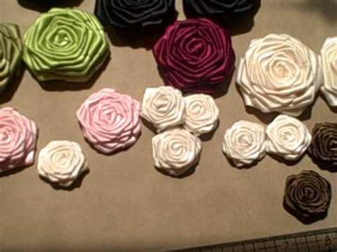 Handmade Satin Ribbon Roses - handmade satin ribbon roses