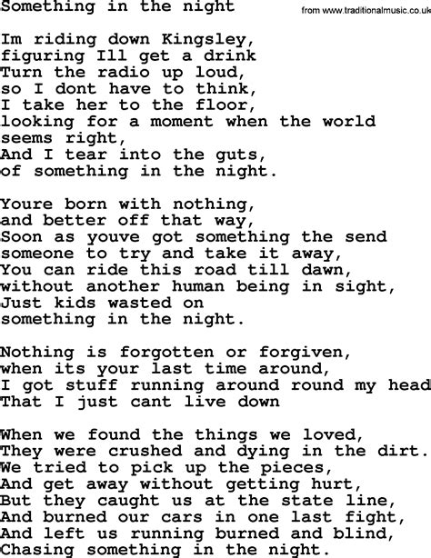 springsteen lyrics lyrics bruce springsteen 28 images springsteen lyrics