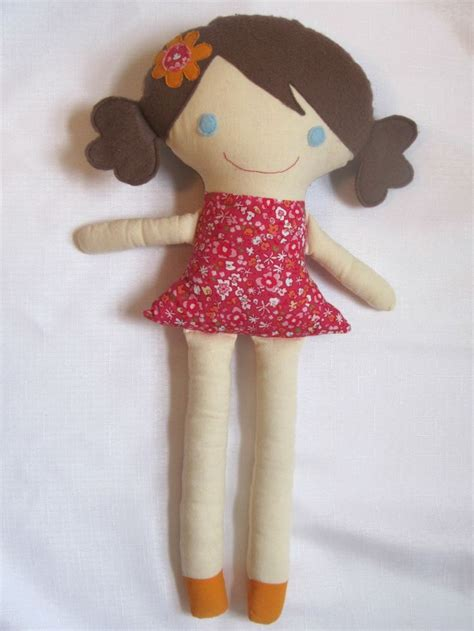 Handmade Rag Dolls Patterns - 17 best images about artesanato bonecas de pano on