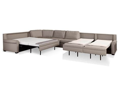 large sectional sleeper sofa furniture large gray leather sleeper sofa sectional