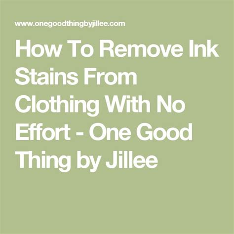 Remove Ink Stain From by 1000 Ideas About Remove Ink Stains On Ink