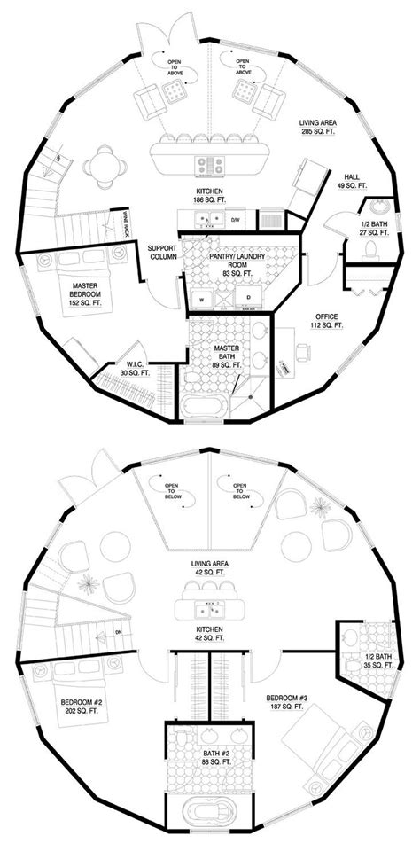 post circle floor plans best 25 cob house plans ideas on house plans circle house and house
