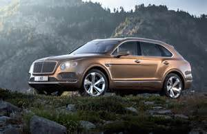 Bentley Suv 2015 Bentley Bentayga Revealed Official Performancedrive