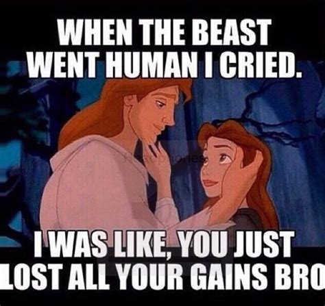 Gym Humor Memes - the beast went human i cried funny fitness pinterest