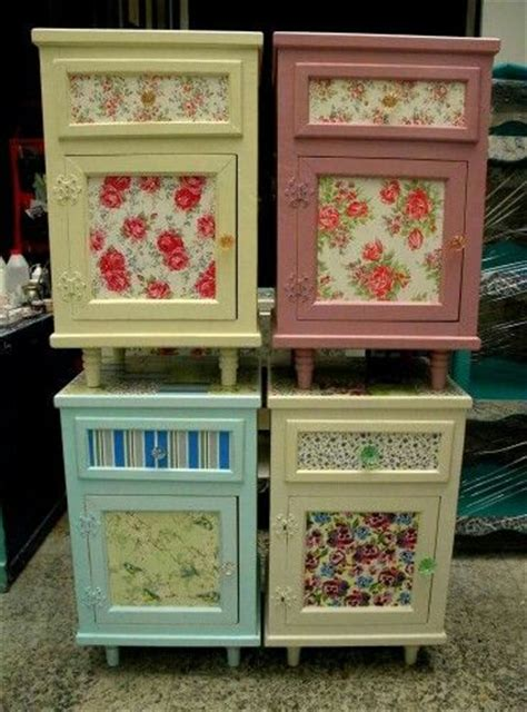 Fabric Decoupage On Wood - fabric decoupage decorating ideas fabrics