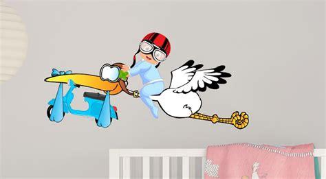 Aufkleber Auf Roller Entfernen by Vespa Babystorch Aufkleber Sticker Junge Blaue Vespa