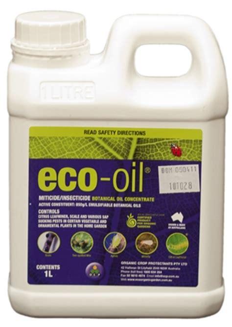 eco oil eco organic garden  ocp