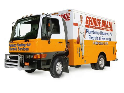 George Brazil Plumbing by Cube Truck From George Brazil Home Services In Az