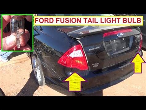 2012 ford fusion led tail lights 2010 ford fusion se led tail lights doovi