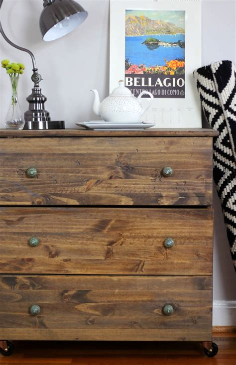Tarva Nightstand Hack Remodelaholic 25 Ikea Tarva Chest Hacks