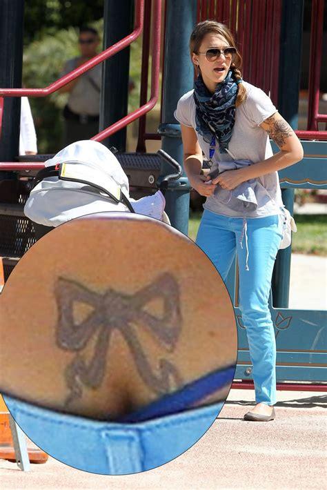 jessica alba tattoo removal worst tattoos mirror