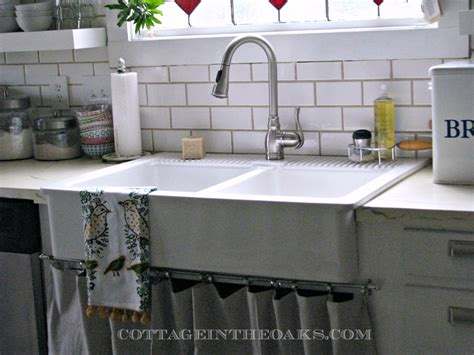 double bowl farmhouse with backsplash double bowl farmhouse with backsplash 100 images