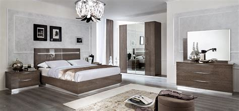 high gloss contemporary bedroom furniture set silver birch italian bedroom furniture