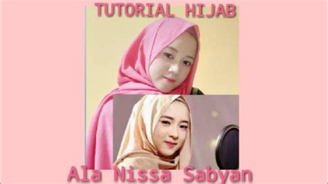 nama hijab  tutorial hijab ala nissa sabyan gambus