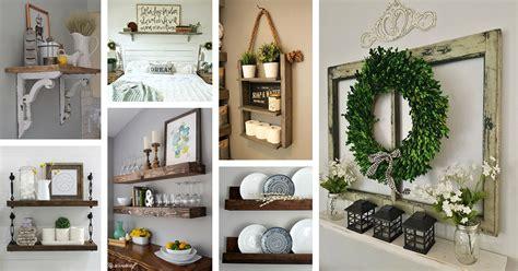 home interior shelves 2018 26 best farmhouse shelf decor ideas and designs for 2019