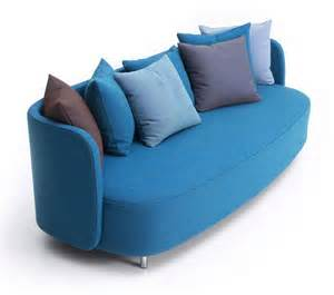 Good Modern Minimalist Living Room Design #8: Blue-couches-for-living-room-decoration.jpg