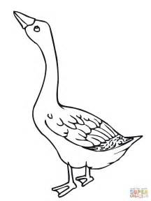 Goose Coloring Page canadian geese coloring pages coloring pages
