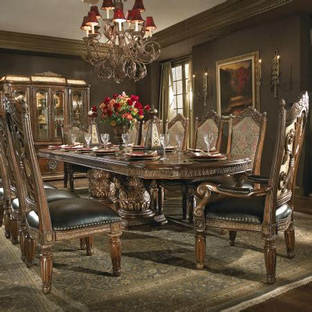 michael amini dining room aico villa valencia dining room collection