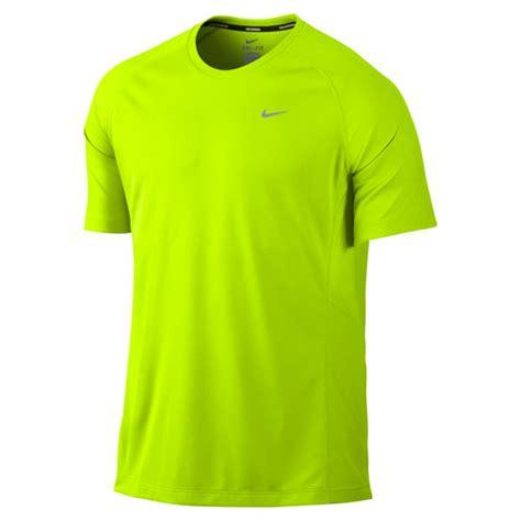 Kaos T Shirt Nike Green Tosca nike s miler sleeve t shirt volt green