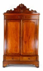 victorian armoire antique victorian rococo walnut armoire w carvings