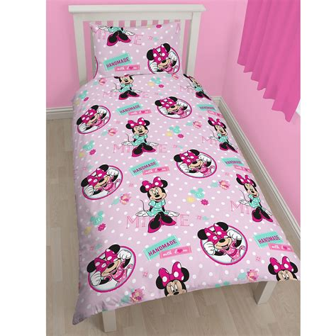 minnie mouse bedroom curtains minnie mouse bedroom range twin double duvet cover
