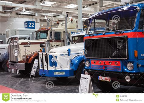 kenworth trucks deutschland historic volvo and kenworth trucks editorial image image