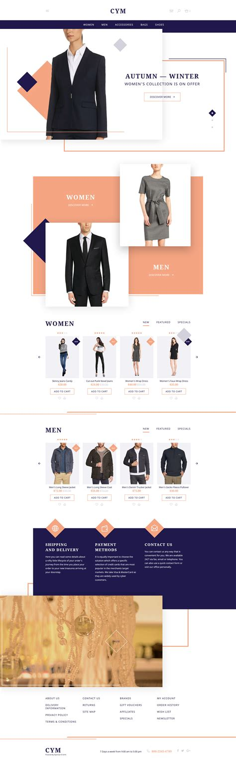 opencart themes clothing 30 best opencart themes and templates free premium