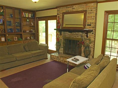 before and after fireplace makeovers hgtv