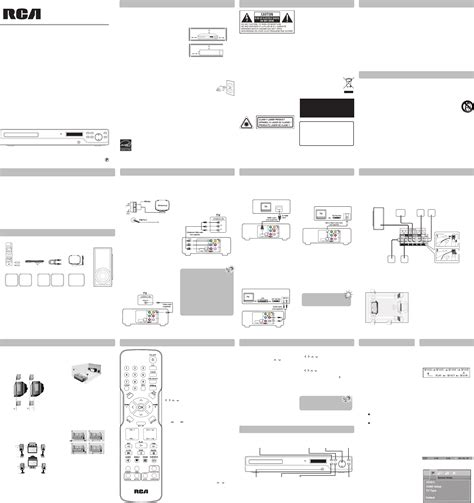 rca home theater system rtd325w user guide manualsonline
