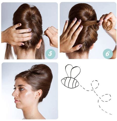 How To Do A Hairstyle by Steps To A Beehive Updo Beehive Hairstyles Updo