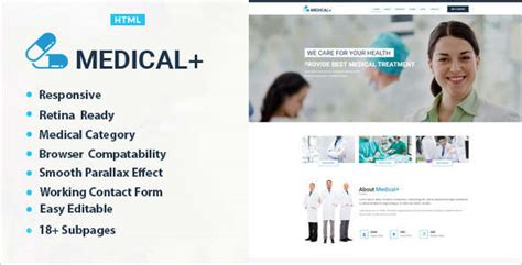 templates bootstrap medical 15 health bootstrap templates free premium themes